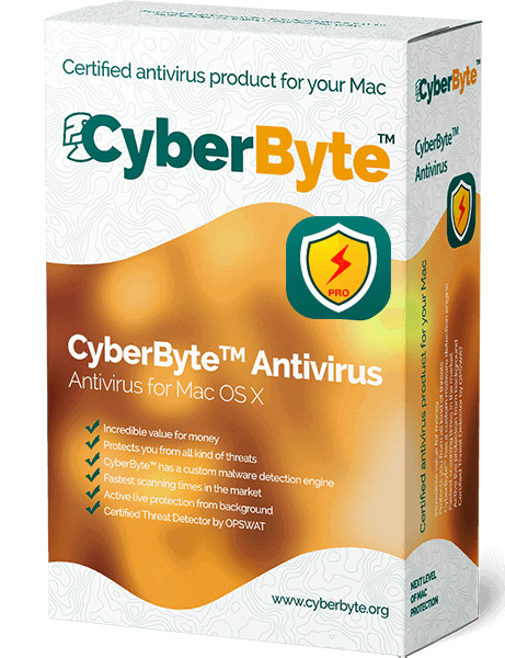 CyberByte Antivirus for Mac OS